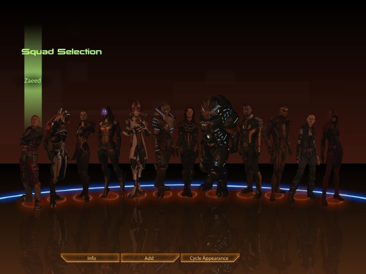 This is what your squad screen should look like, if not you are looking at an imperfect ending.