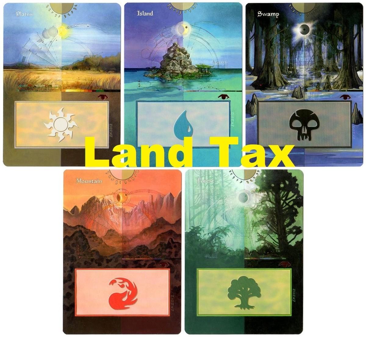 Basic lands mtg