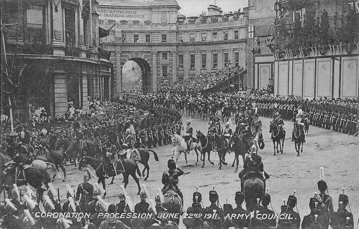 Whitehall, Coronation Procession, 1911