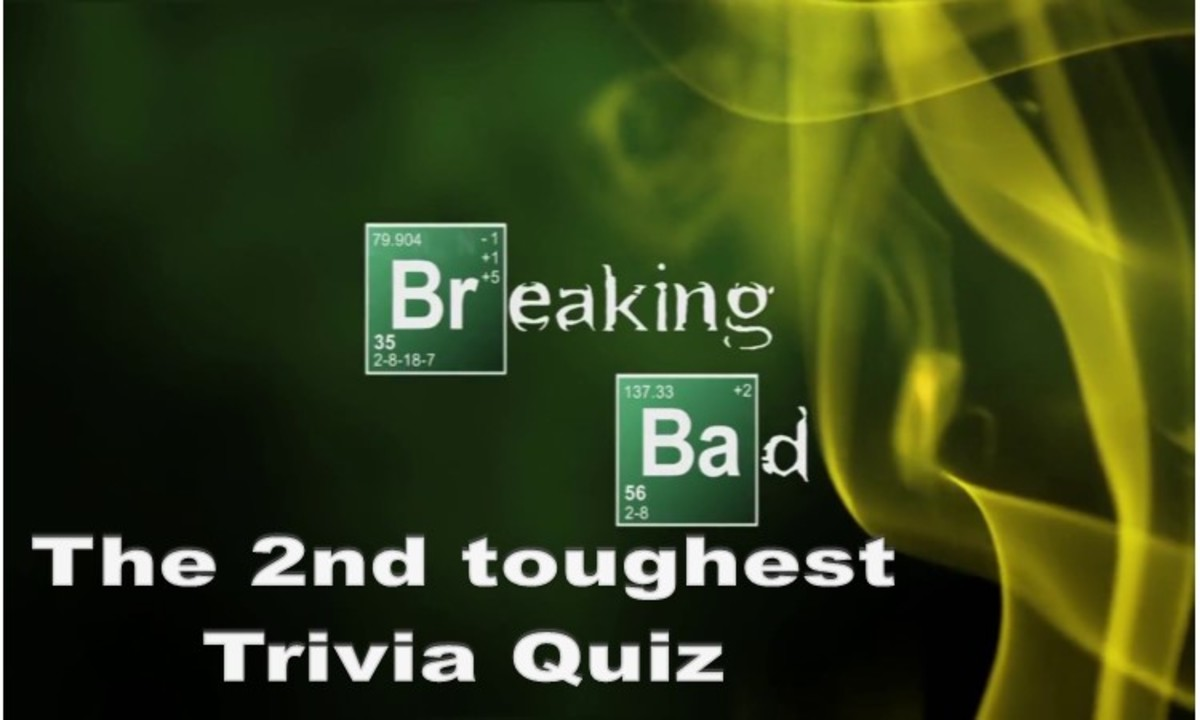 The 2nd Toughest Breaking Bad Trivia