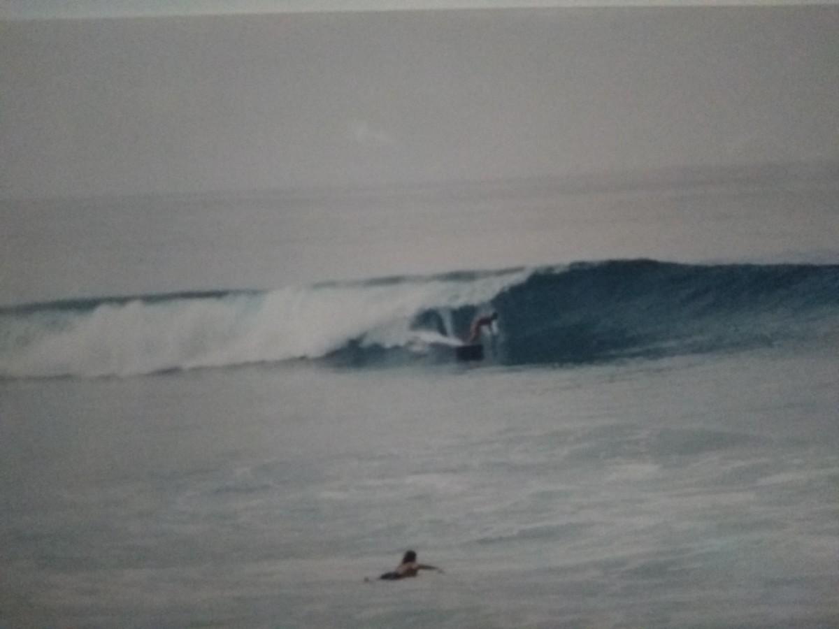 North Shore, Oahu (Photo of a Photo)