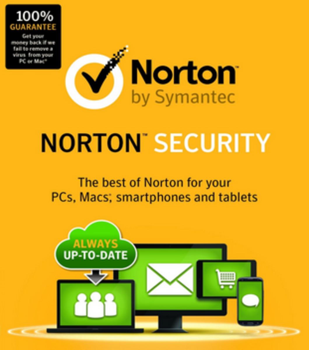 Norton Security product images and screenshots used with permission