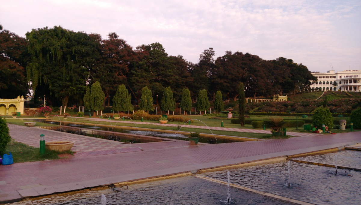 Vrindavan Garden, Mysore .... Photograph by Vanita Thakkar