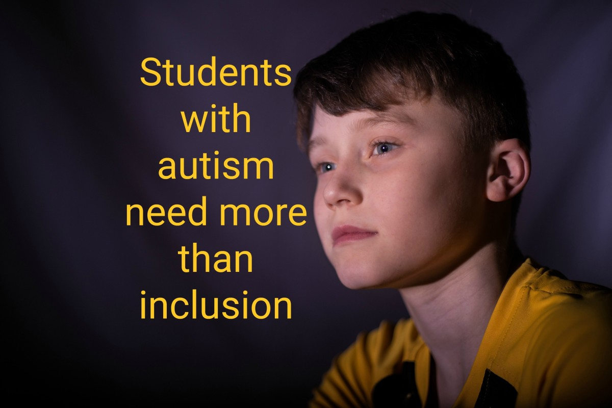 Why Students With Autism Need More Than Inclusion: A Teacher's Perspective