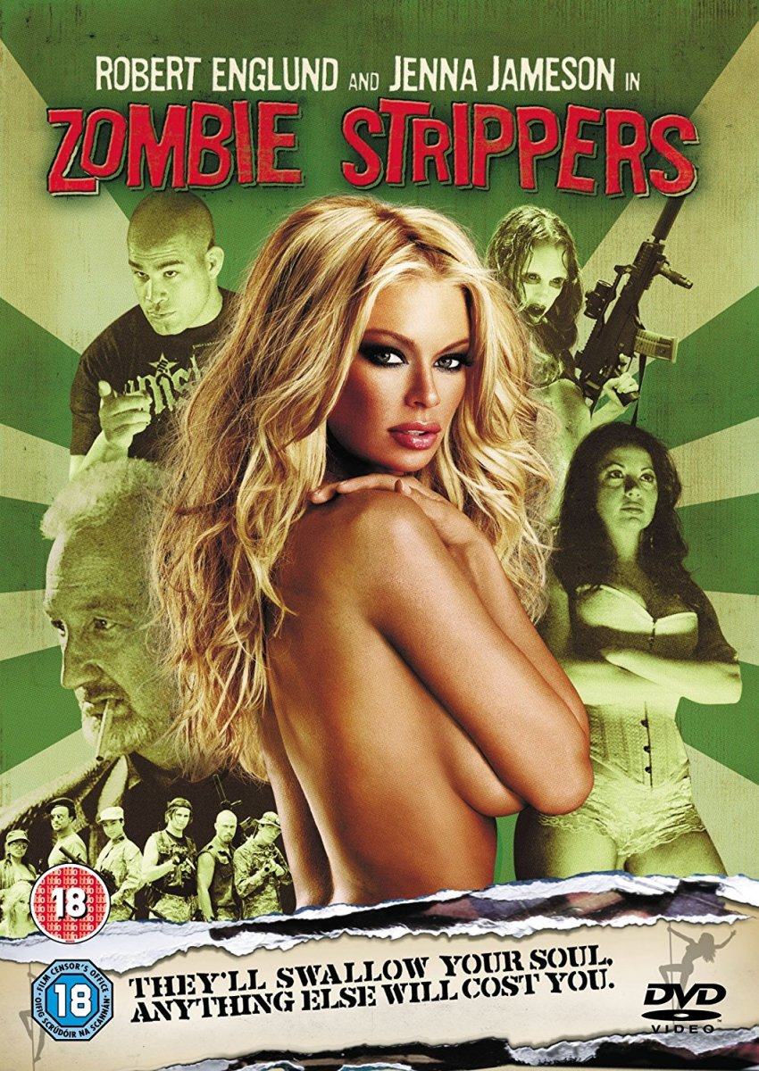 """""""Zombie Strippers"""" DVD"""