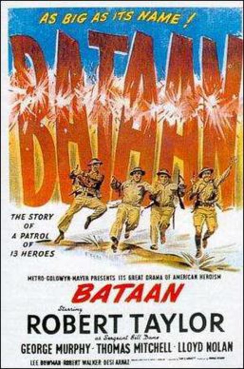 Bataan Theatrical Release Poster