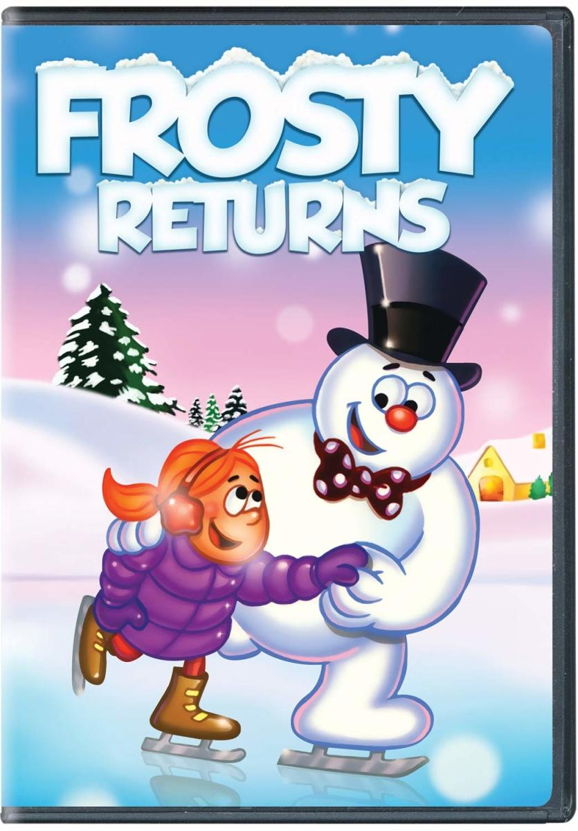"""""""Frosty Reurns"""" DVD Cover"""