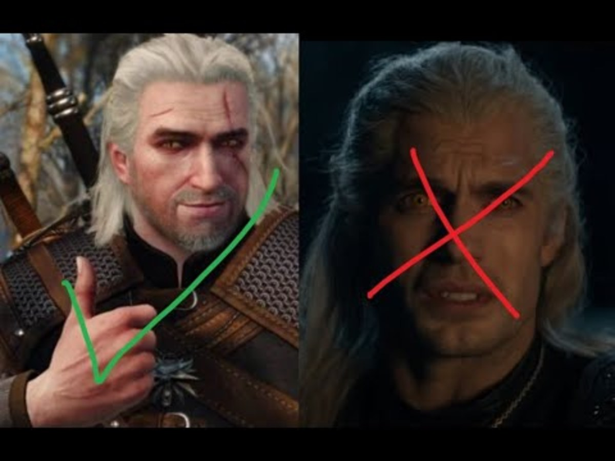 Real Witcher vs. Fake Witcher
