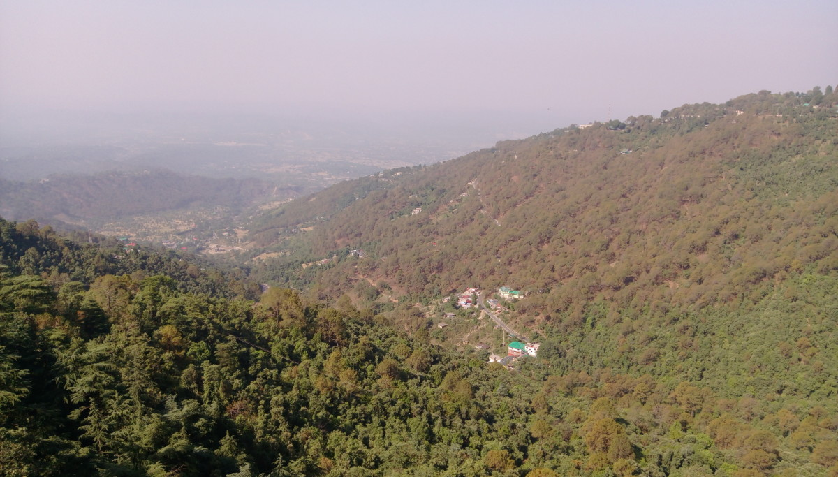 A view of the Kangra Valley, Himachal Pradesh .... Photograph by Vanita Thakkar