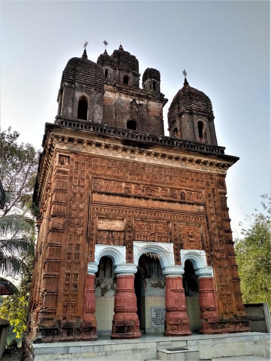 Lakshmi Janardan temple, Ghurisha