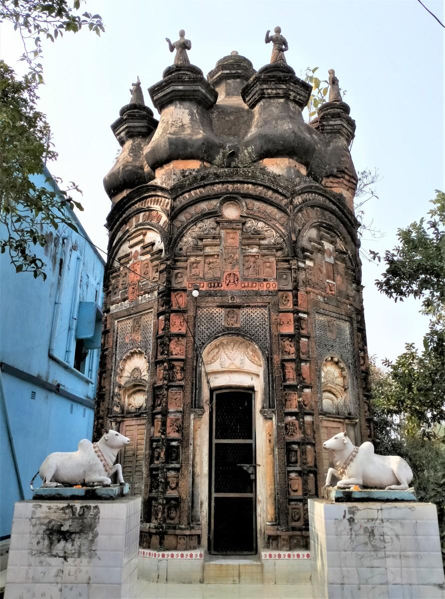 Chandranath Shiva temple, Hetampur