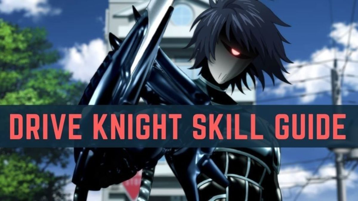 "Drive Knight's Skills in ""One Punch Man: The Strongest"""