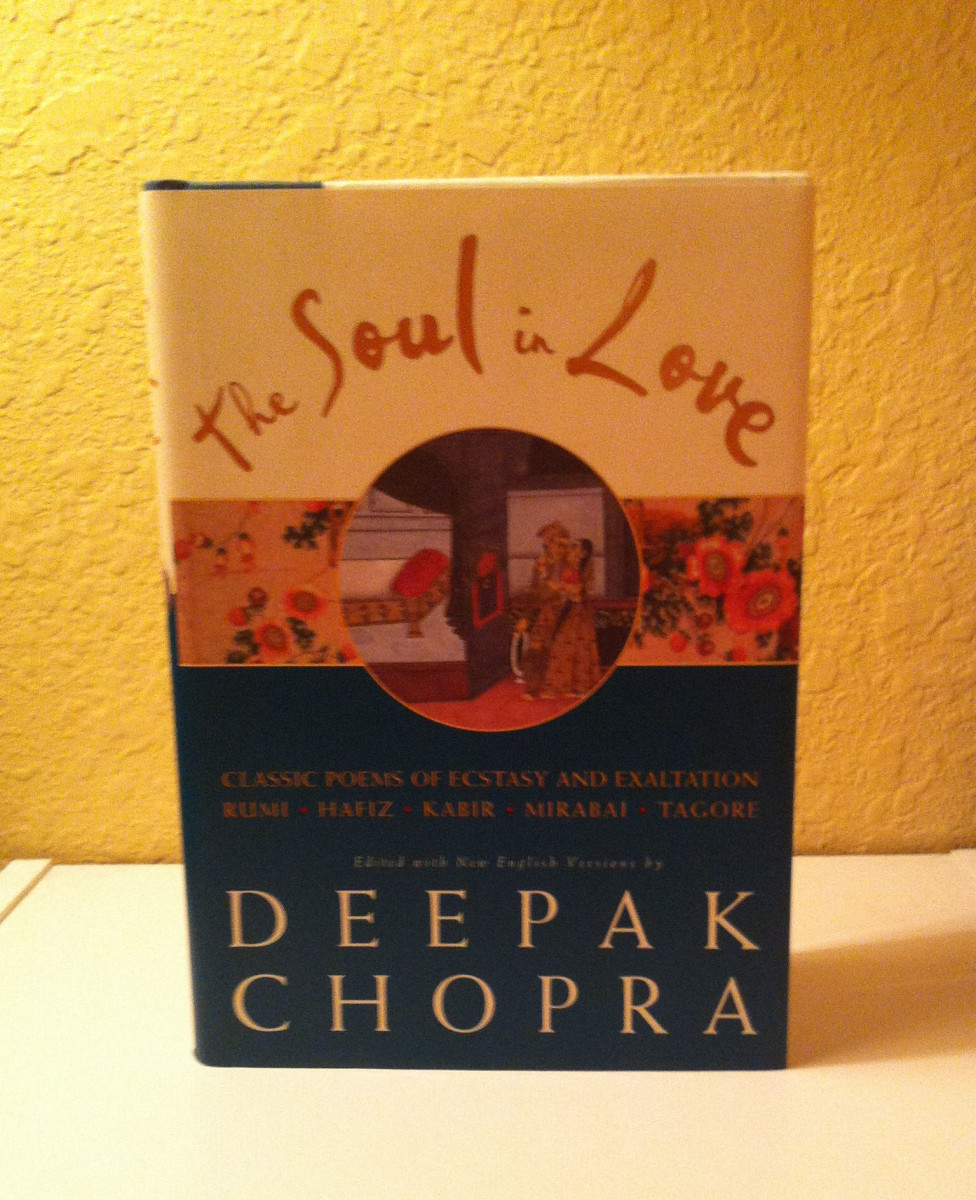 'Soul In Love' poetry book by Deepak Chopra