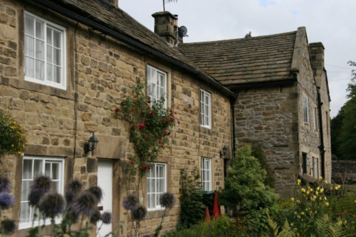 plague cottages - occupied today