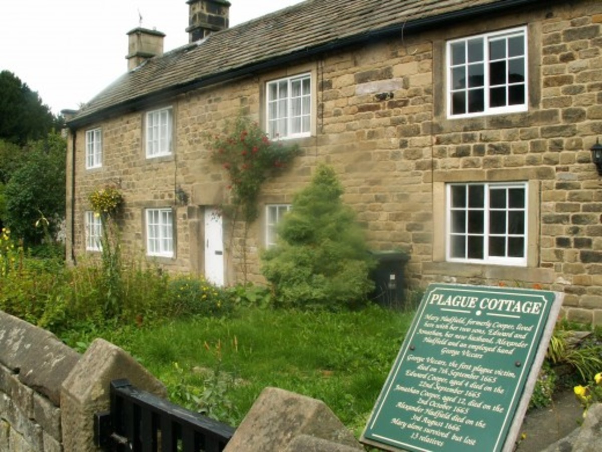 Plague in England - Eyam, Derbyshire, a story of courage and endurance.