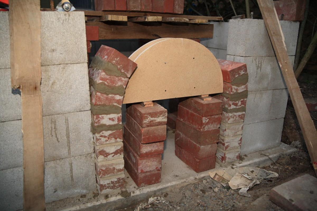 Building a decorative arch