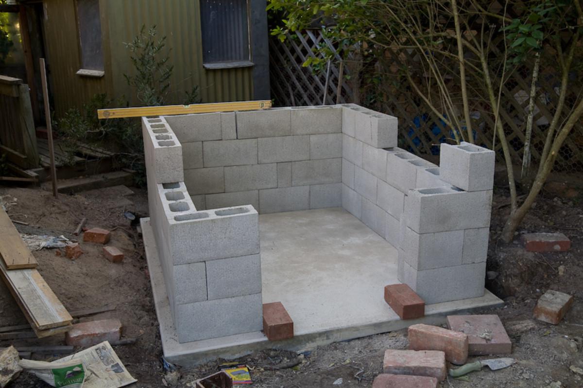 Finishing the blocks