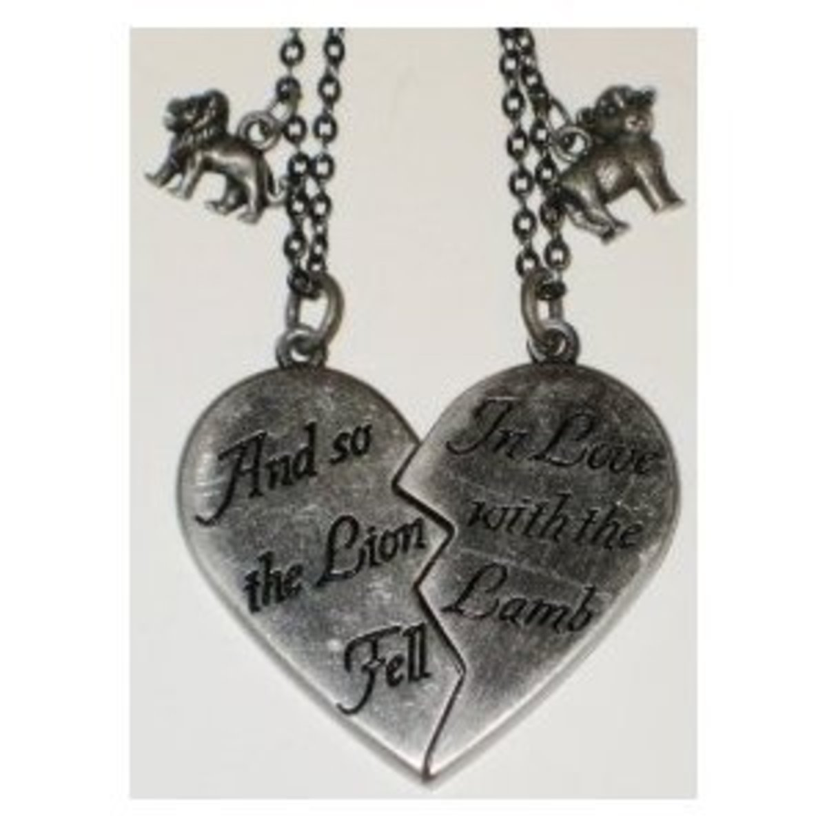 Gift Ideas For Couples Matching Couples Necklaces Amp Dog