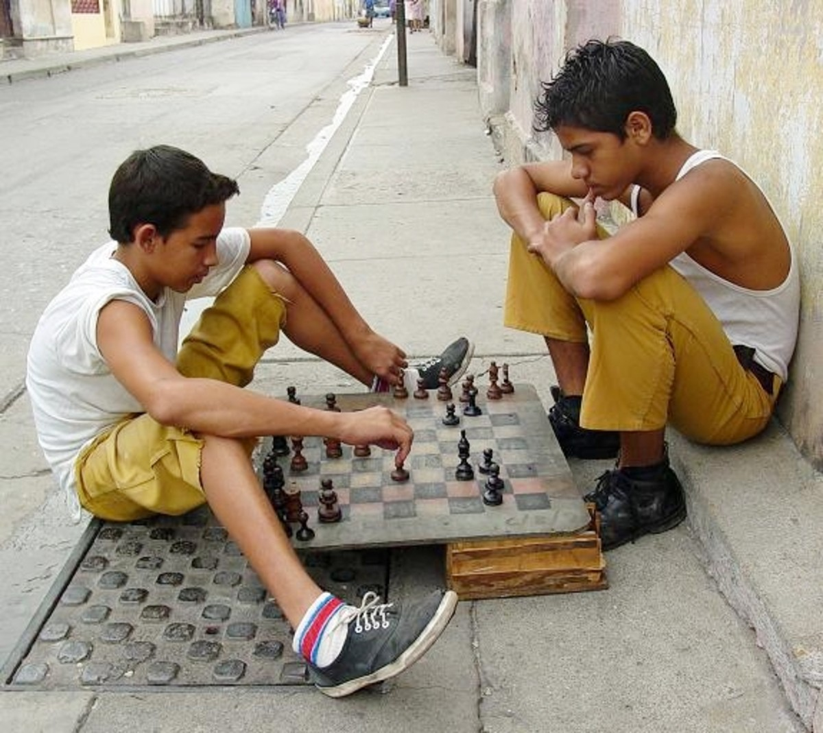 Chess activity can take place anywhere