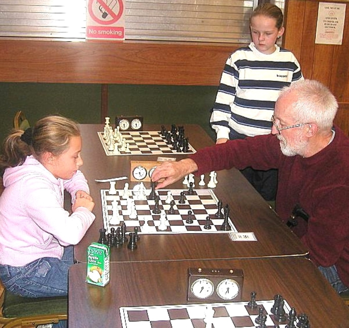 Chess crosses generations