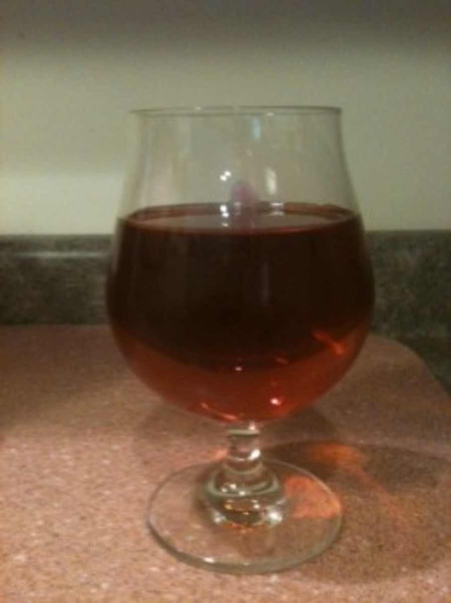 Mmmm... home made mead...