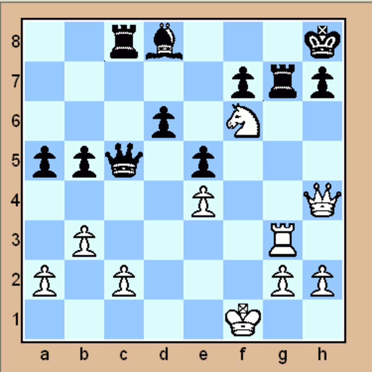 Please scroll down to see the mate in 2 chess puzzles.