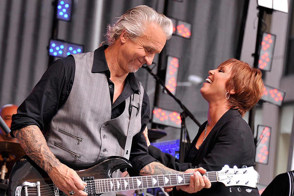 Neil Giraldo with Pat Benatar