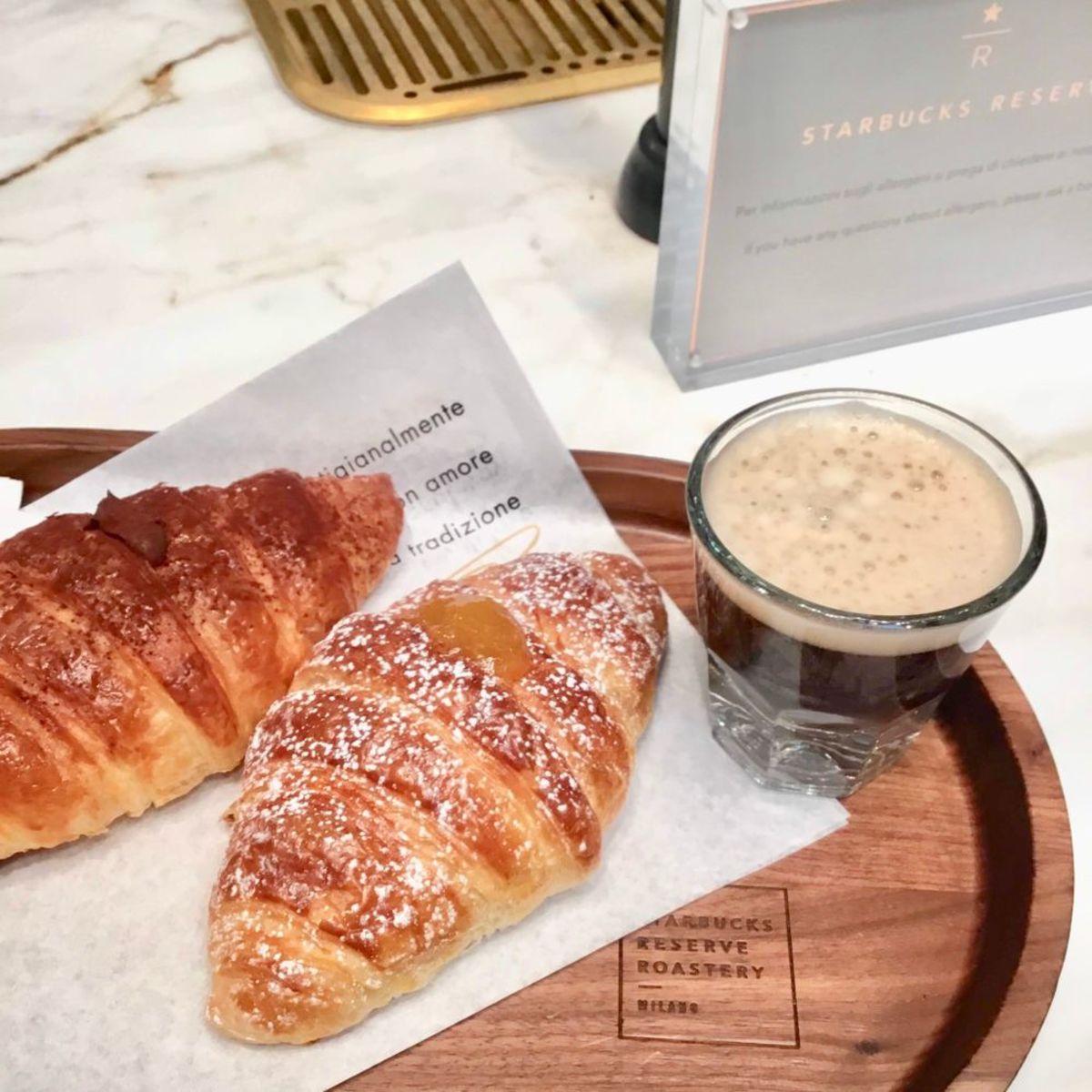 Italian breakfast at Starbucks