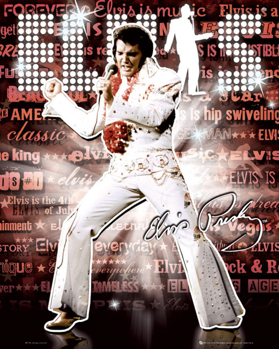 I used to get made fun of for liking Elvis when I was a kid. But unlike others in my situation, I didn't let that shake me enough to stop admiring the singing and dancing of this extraordinary legend