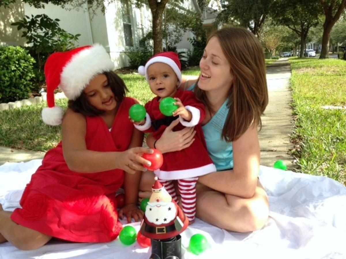 Faith, Lily and Aunt Chelle 2013