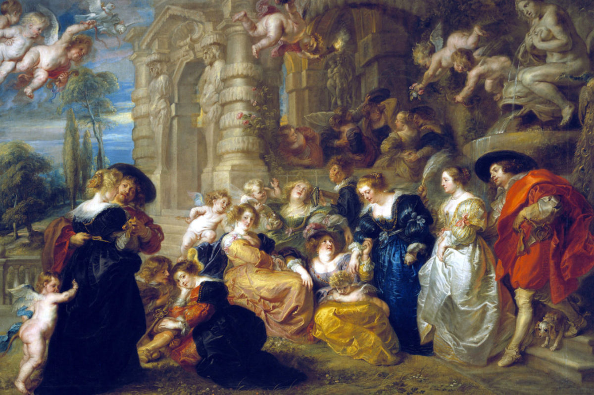 Art style during Baroque Era.