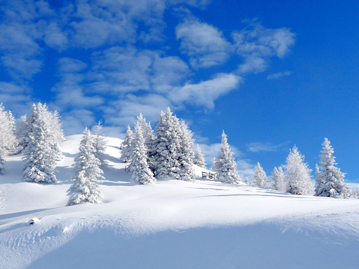 Gorgeous White Christmas Wallpapers