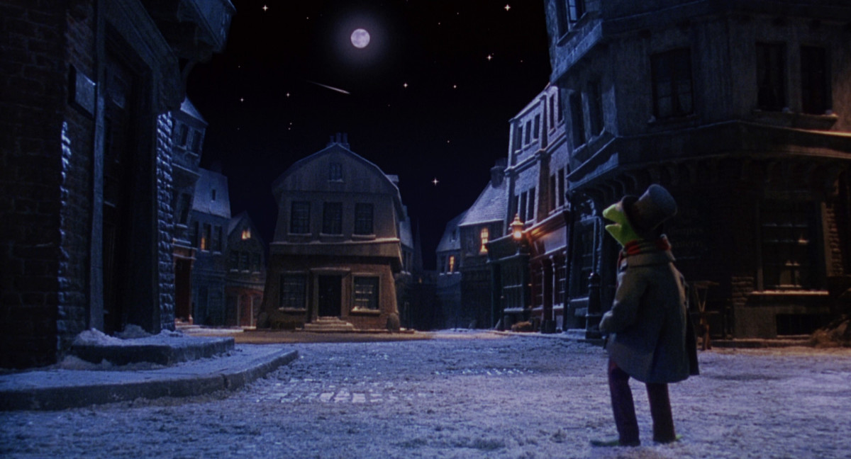 Despite the odd mixture of man and Muppet, the sets and design of the film create a wonderfully magical world that you can't help but fall in love with.