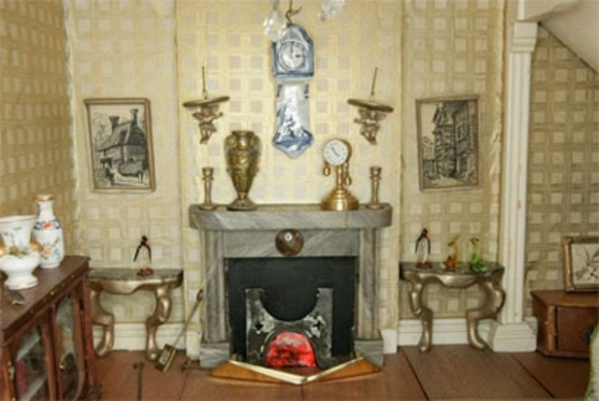 Mrs Hibberd's dolls' house, about 1800