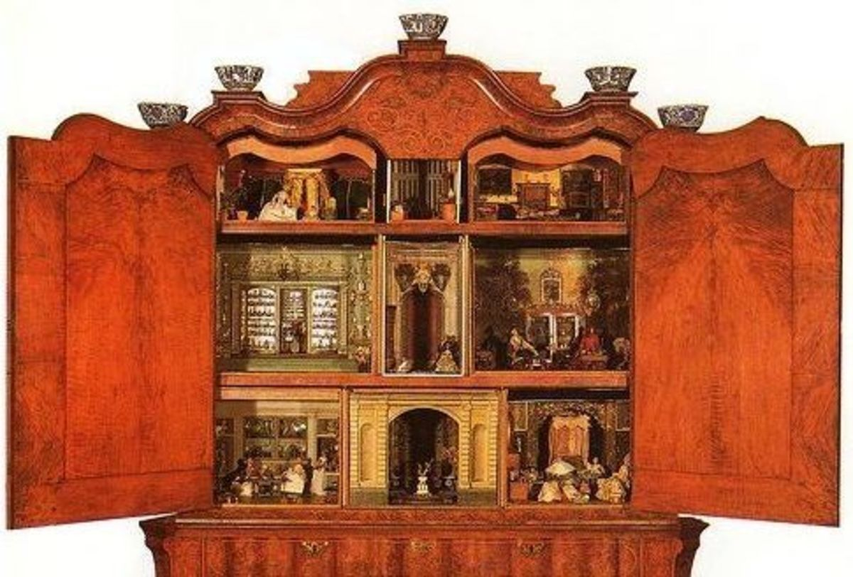 Sara Ploos van Amstel's 17th century DollHouse