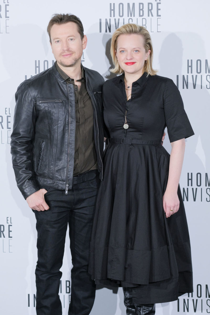 Director Leigh Whannell and Elisabeth Moss at The Invisible Man (2020) movie premiere