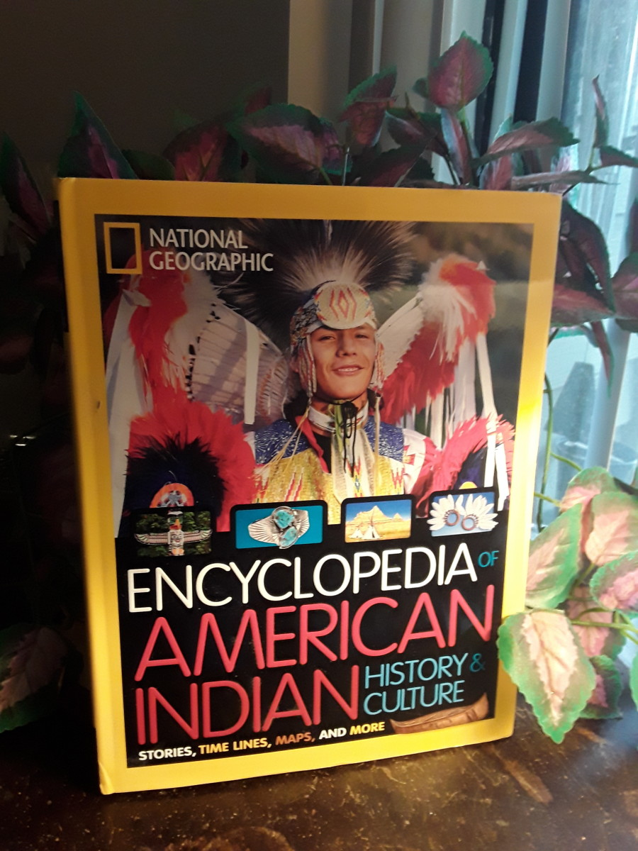 Native American Recognition for November With Gorgeous Book From National Geographic