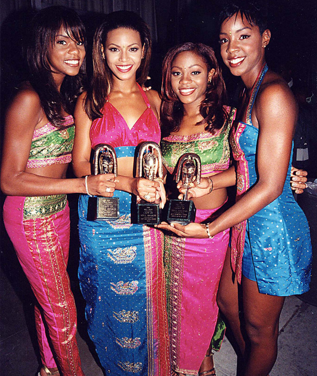 The original Destiny's Child foursome. Hopefully we'll one day see a reunion with Letoya, Latavia, Michelle, Beyonce and Kelly.