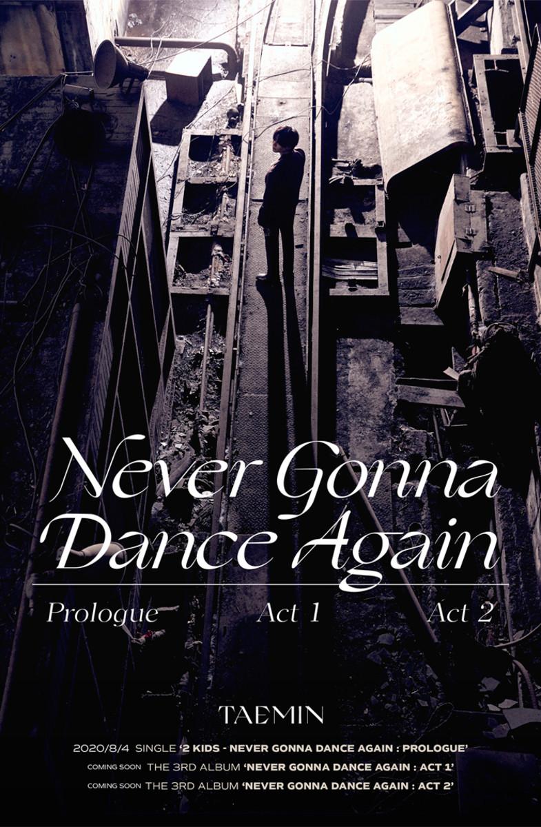 TAEMIN- Never Gonna Dance Again: Act 1