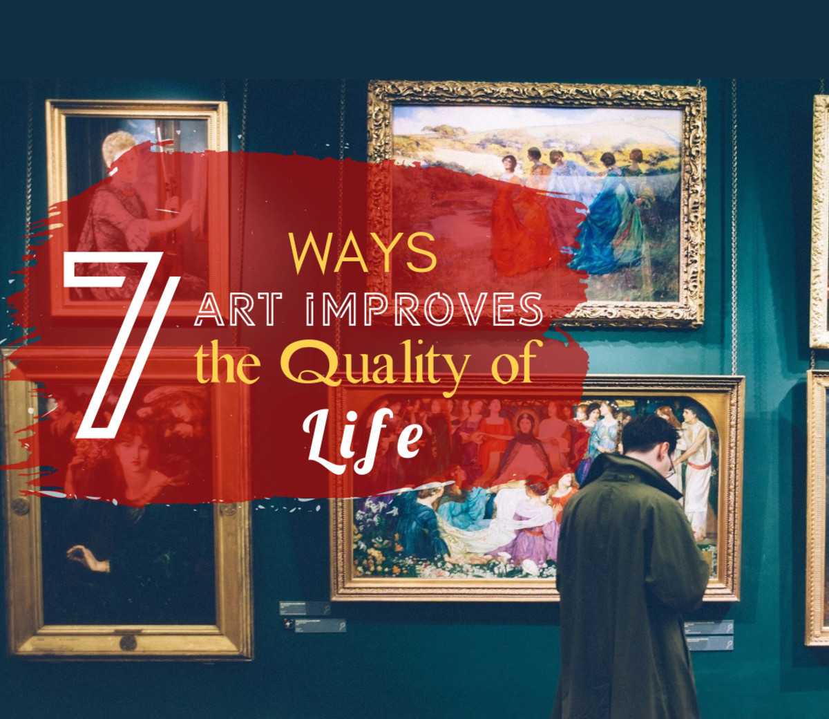 How does art appreciation improve quality of life and makes you feel good? There is science behind it. Admiring artworks stimulates the brain similarly to what happens when we fall in love, it improves our mood, and can be used as therapy during heal