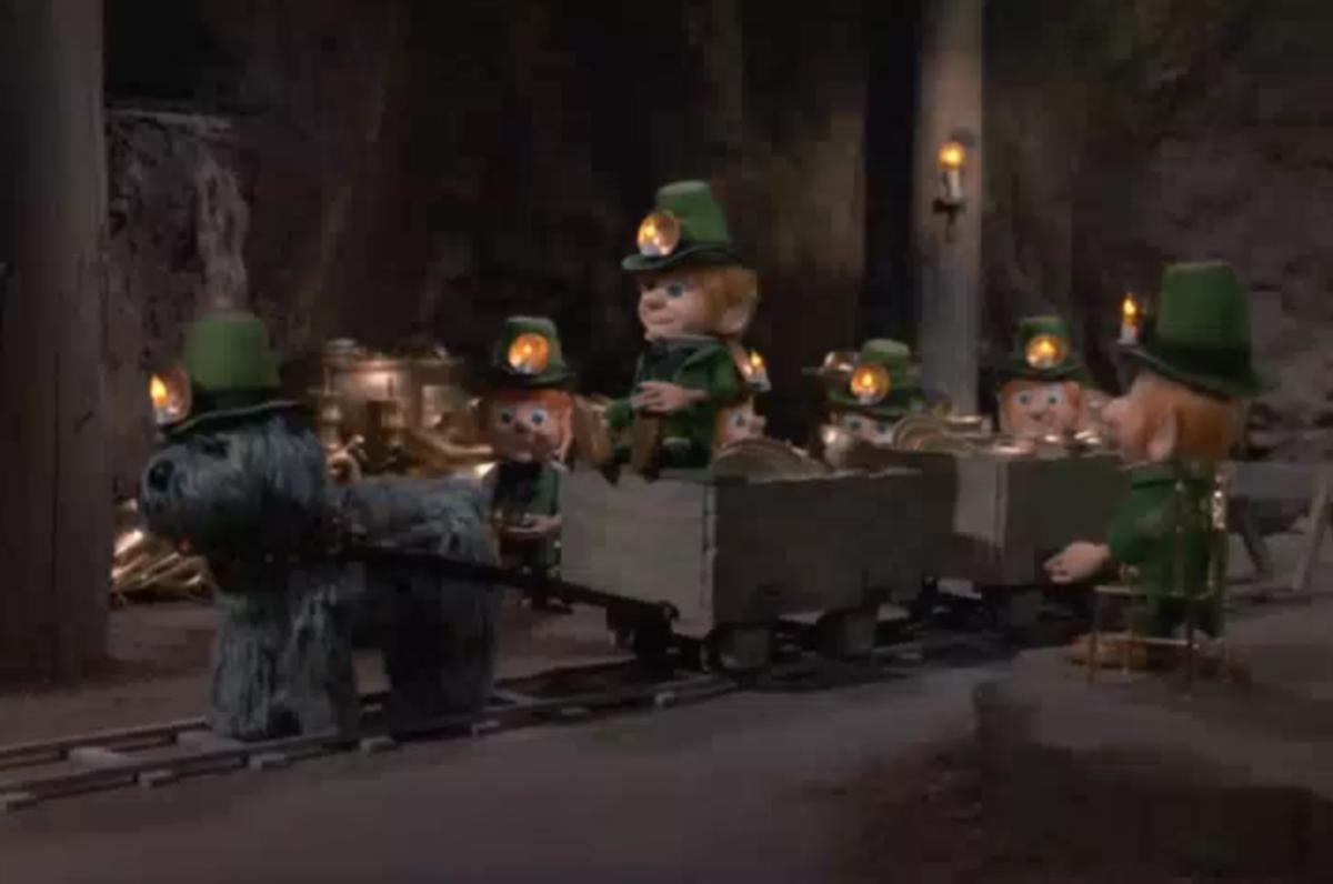 The Kilakilarneys, a gold mining clan of leprechauns.