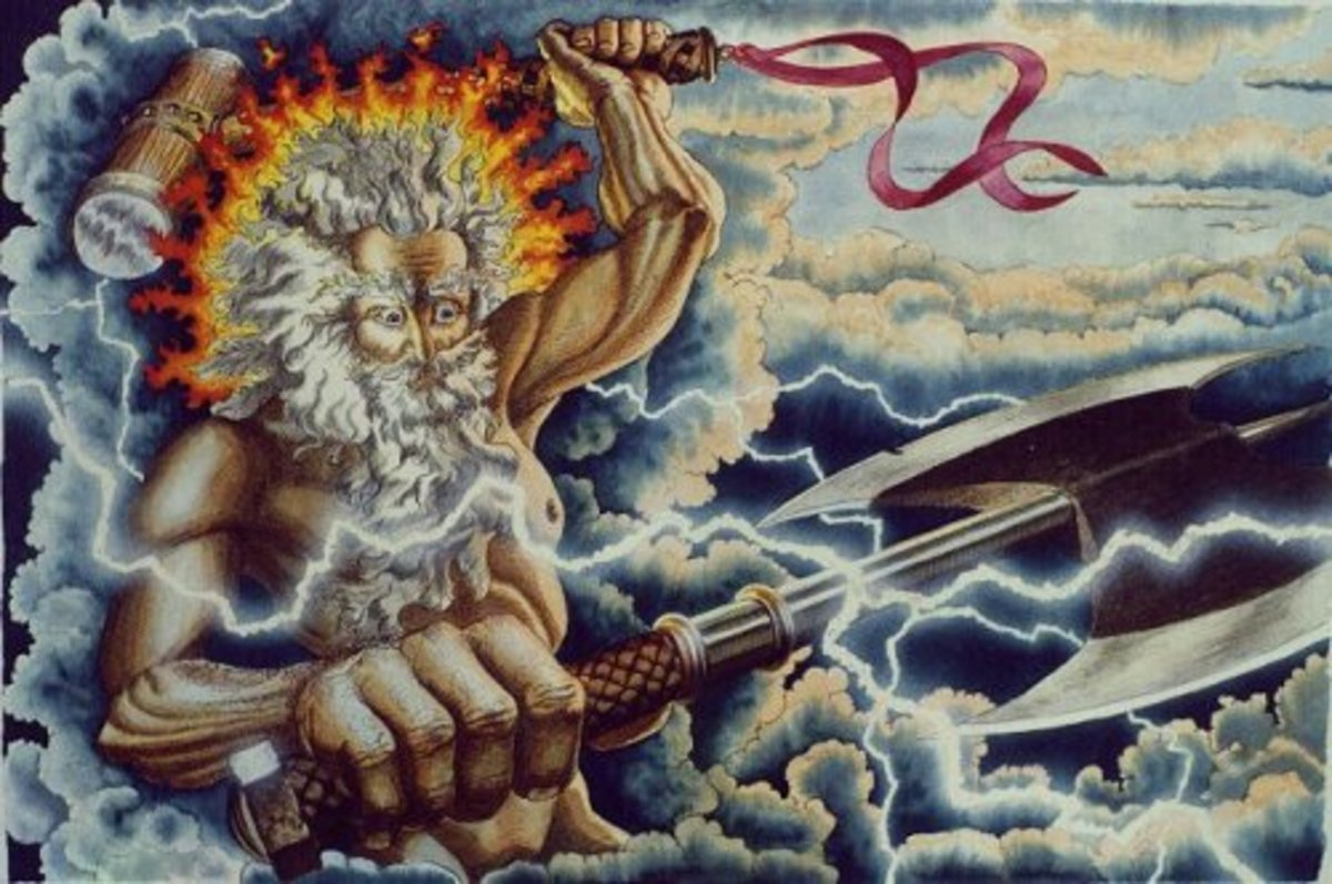 The Finnish God of Thunder, Ukko.