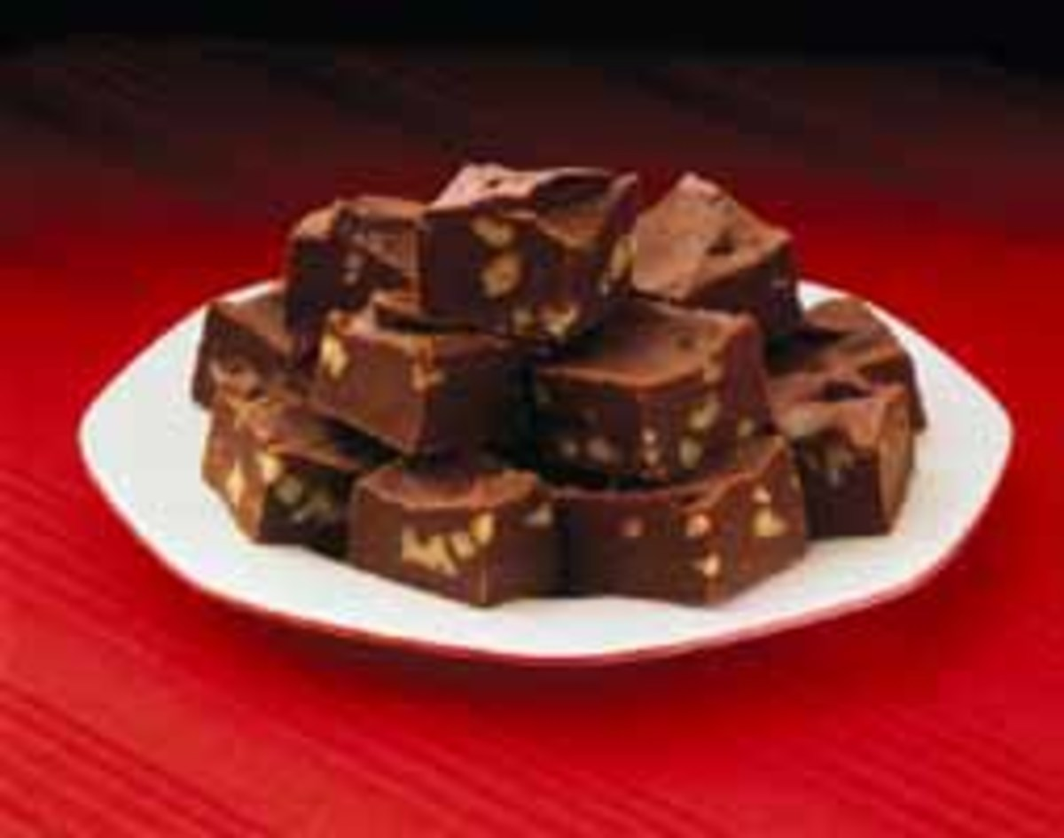 Dark chocolate fudge picture