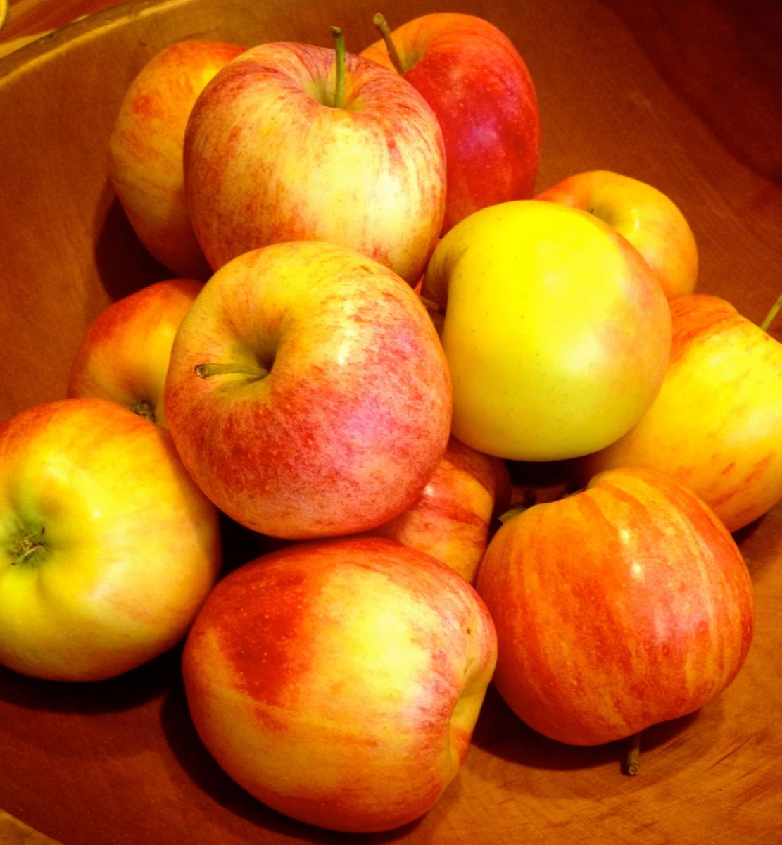 Apples and hot spiced cider are signs that Autumn is here!