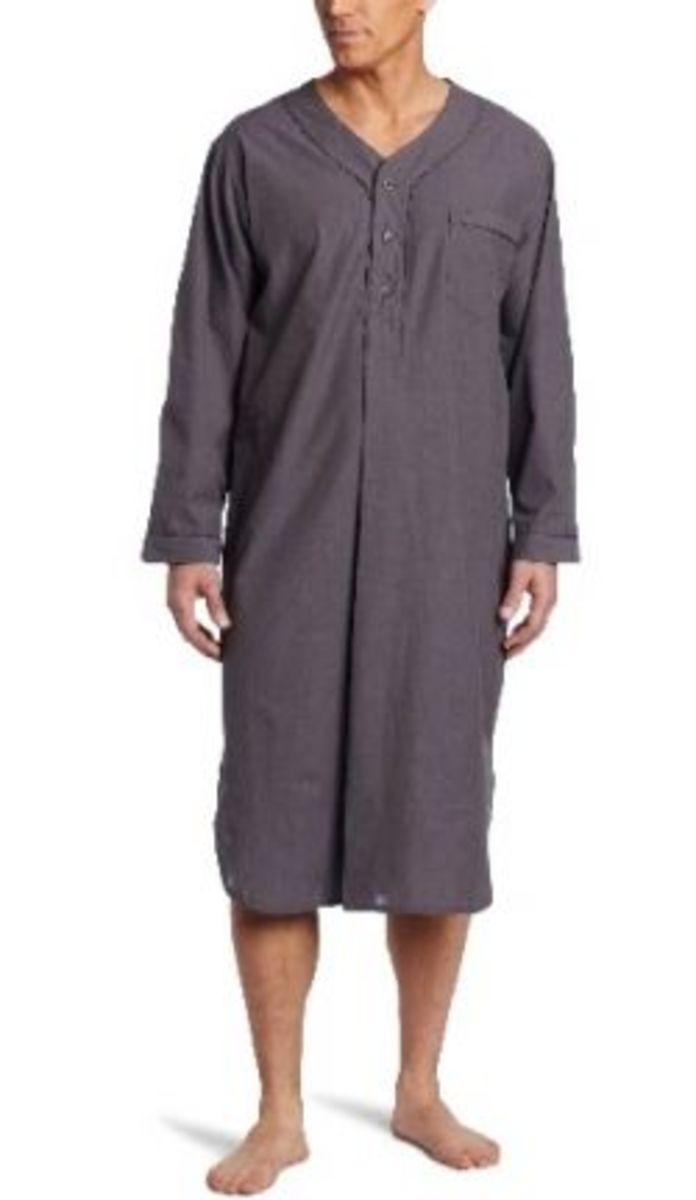 Basic men's sleep shirt