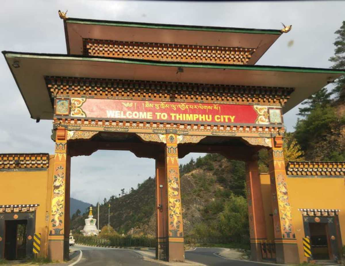 Rediscovering the Joy of a Road Travel—a Trip to Thimphu—the Capital City of Bhutan