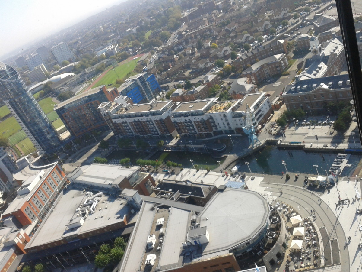 Another View from the Spinnaker Tower