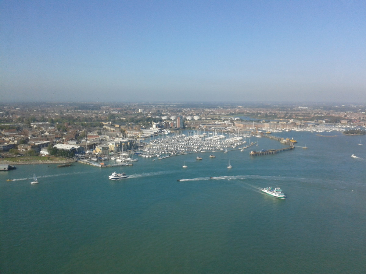 Stunning View from Spinnaker Tower