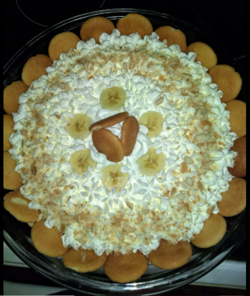 Southern banana pudding with homemade vanilla wafers