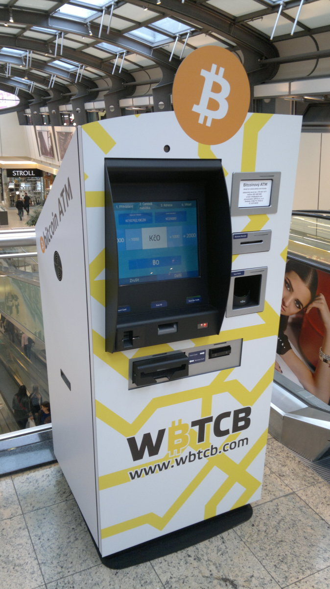 Bitcoin ATM, Brno, Czech Republic (CC BY-SA 4.0).